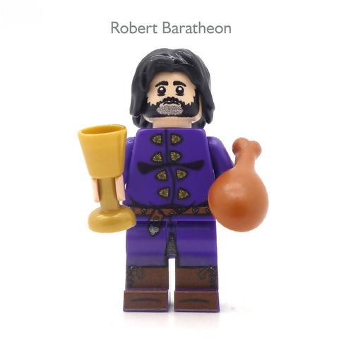 Five Medieval Fantasy Minifigs of Your Choice - Custom Design Minifigures