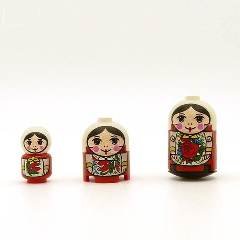 Russian Dolls Custom Lego Brickfigs