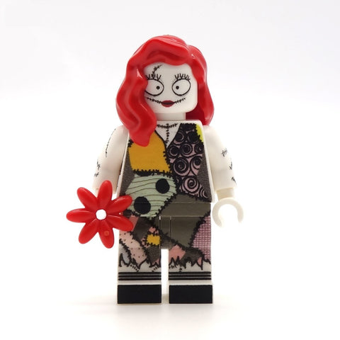 Sally (Nightmare Before Brickmas) - Custom Design Minifigure
