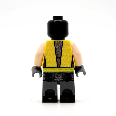 Flame Ninja - Custom Design Minifigure