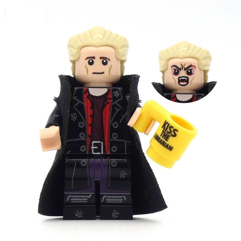Spike, Buffy the vampire slayer, custom lego minifigure set