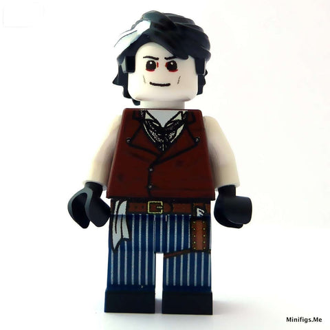 custom lego sweeney todd minifigure johnny depp