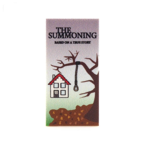 The Summoning Horror Poster - Custom Printed LEGO Tile