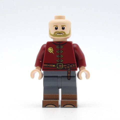 Tywin Lannister, Hand of the King - Custom Design LEGO Minifigure