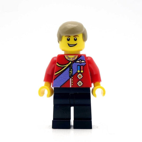 Prince William - Custom Design Minifigure
