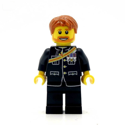 Prince Harry Custom Minifigure Royal Mail