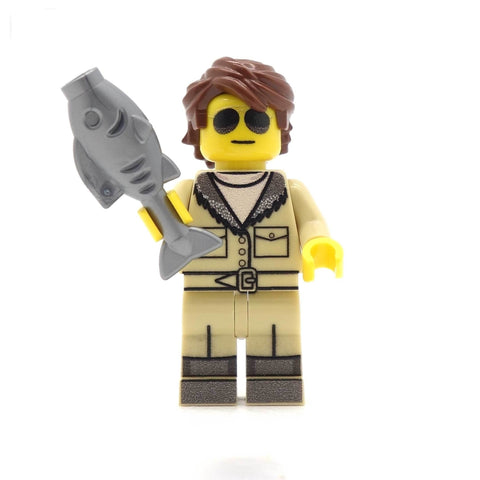 Smoke me a Kipper (Cult Classic Space Comedy) - Custom Design Minifigure