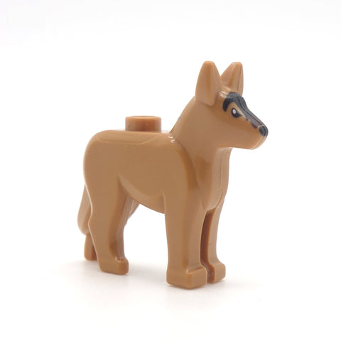 Light Brown LEGO Alsatian