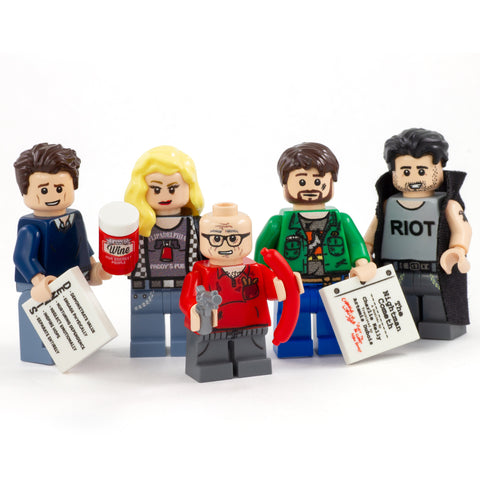 The Gang (Never Raining in Brickadelphia) - Custom Design Minifigure Set