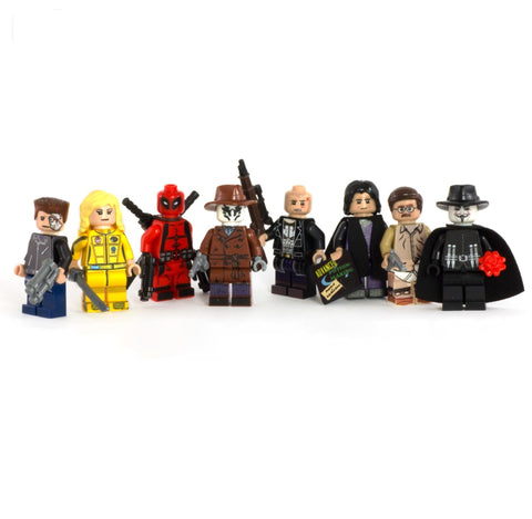 Antiheroes Master Set - Custom LEGO Minifigures