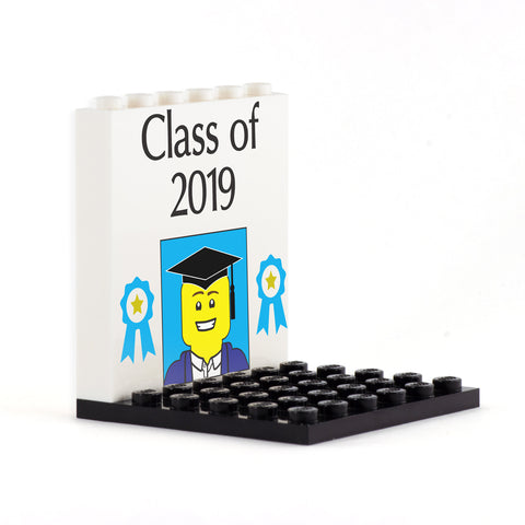 Class of .... Personalised Back Panel- Custom Design Display Panel and Stand
