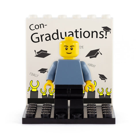 Con Graduations! Back Panel- Custom Design Display Panel and Stand