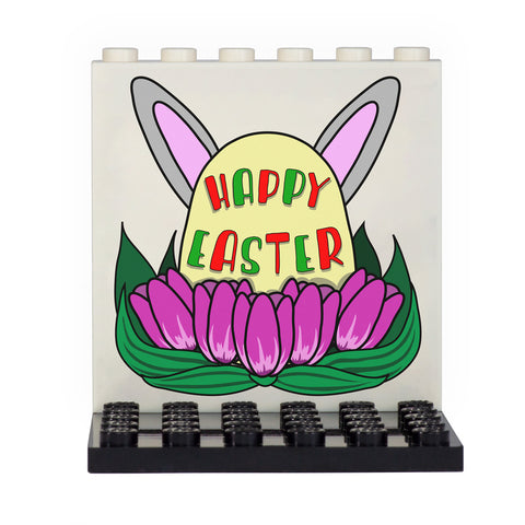Happy Easter Back Panel- Custom Design Display Panel and Stand