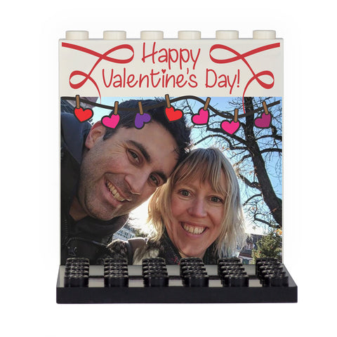 Your Image Valentine's Day Back Panel- Custom Design Display Panel and Stand
