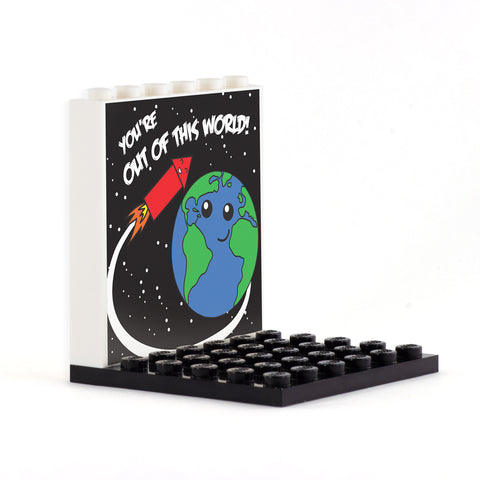 Out of this World Back Panel- Custom Design Display Panel and Stand