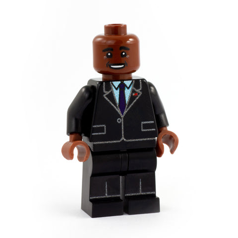 Barack Obama - Custom Design LEGO Minifigure