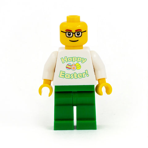 Happy Easter Personalised Minifigure - Custom Design Minifigure