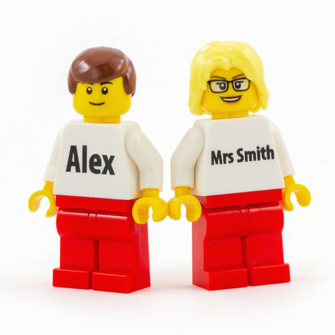 Basic Personalised Minifigure - Custom Design Minifigure