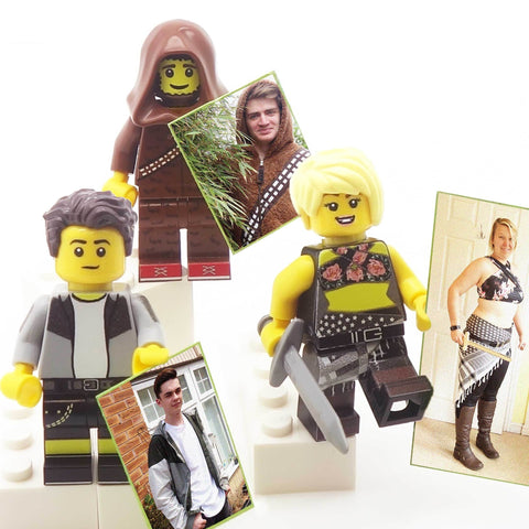 Bespoke Full Minifigure (based on a photo or description) - Custom LEGO Minifigure