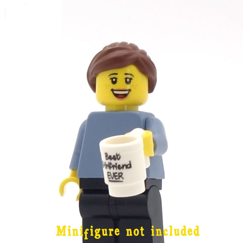 'Best Girlfriend EVER' Mug - Custom Design Minifigure Mug