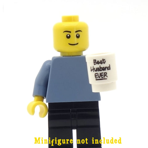 'Best Husband EVER' Mug - Custom Design Minifigure Mug
