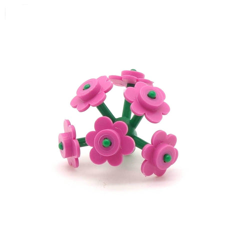 LEGO Bunch of Pink Flowers - Minifigure Accessory