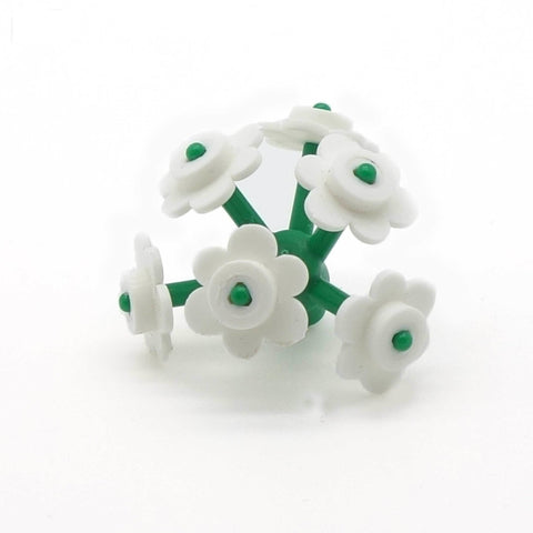 LEGO Bunch of White Flowers - Minifigure Accessory
