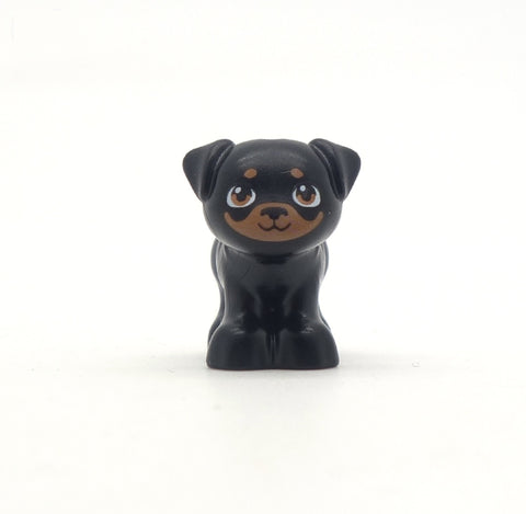 LEGO Little Black and Brown Dog, Pug