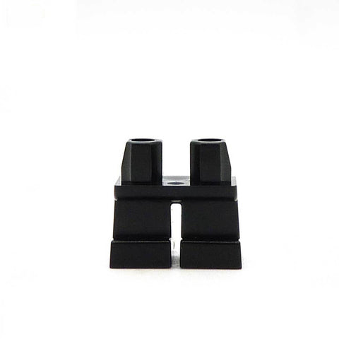 Short Black Legs LEGO Minifigure Legs