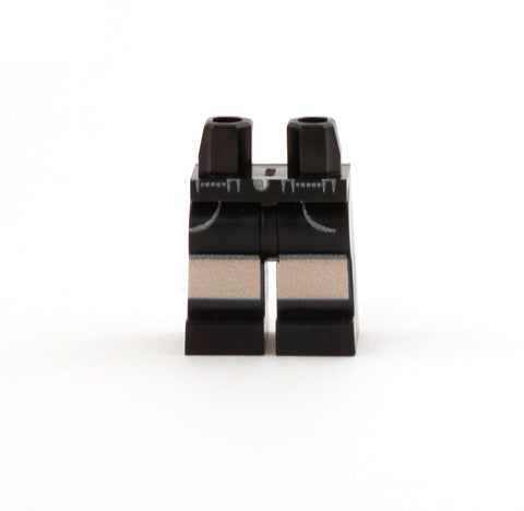 Black Shorts with Pockets - Custom Printed LEGO Minifigure Legs