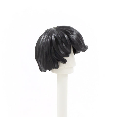 Black Sweepy - LEGO Minifigure Hair