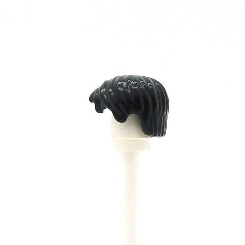 Black Tousled - LEGO Minifigure Hair