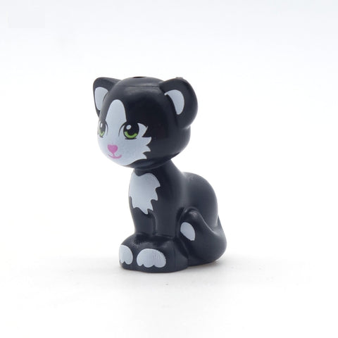 LEGO Friends Black and White Cat