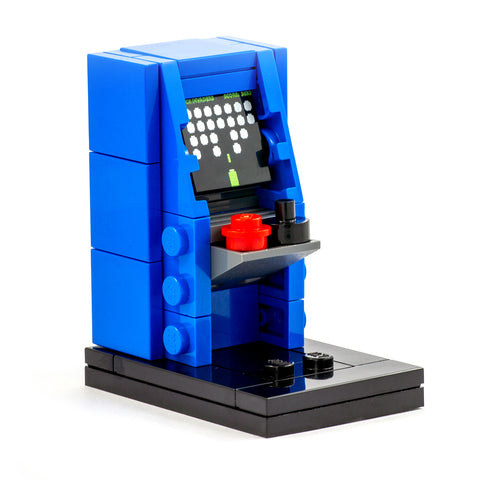 Blue Arcade Cabinet - Custom Minibuild Display