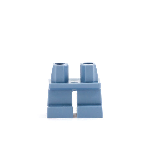 Short Blue Grey Legs - LEGO Minifigure Legs
