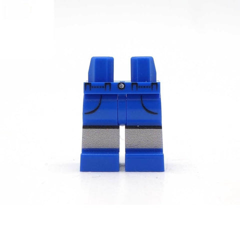 Blue Shorts with Pockets - Custom Printed LEGO Legs