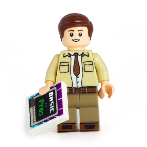 Bob (Stranger  Things) - Custom Design LEGO Minifigure