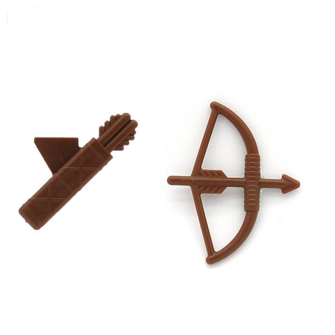 LEGO Bow and Arrow with Quiver Minifigure Accessory