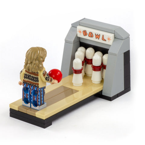 Bowling Alley - Custom LEGO Mini Build (Based on The Big Lebowski)