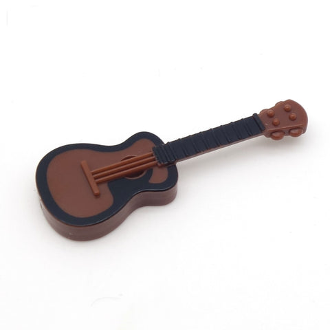 Brown and black acoustic guitar (Brickforge)