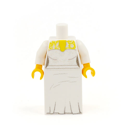 Personalised Bride Minifigure - Custom Design Minifigure