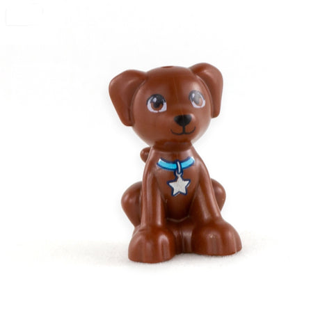 LEGO Sitting Brown Dog