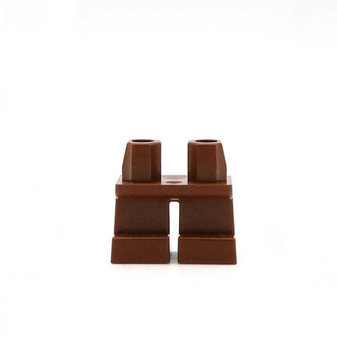Short Brown Legs LEGO Minifigure Legs