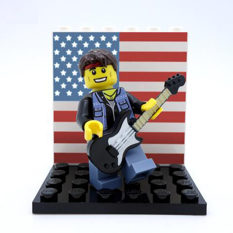 Bruce Springsteen (The Boss) - Custom LEGO Minifigure