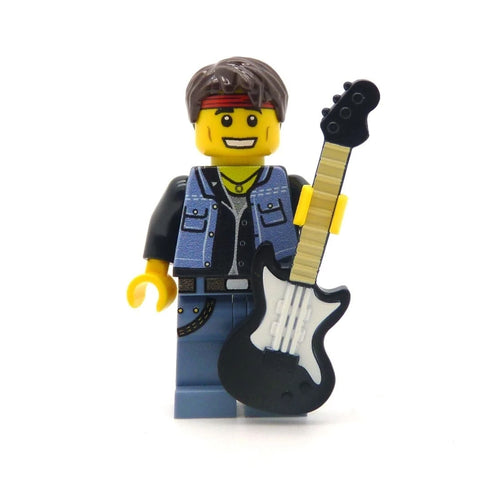 Bruce Springsteen, The Boss - Custom Design LEGO Minifigure