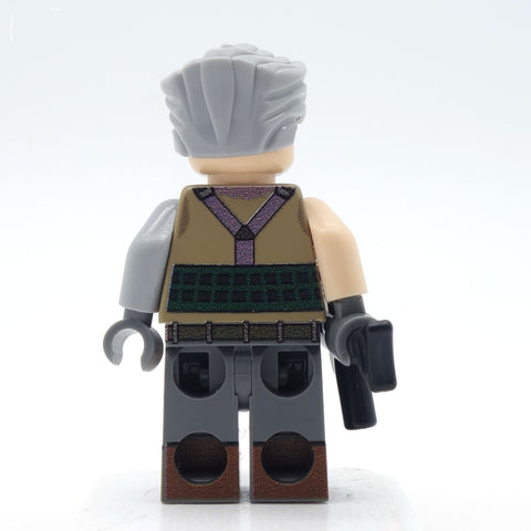 Time Travelling Warrior and Merc with a Mouth - Custom Design Minifigure Set