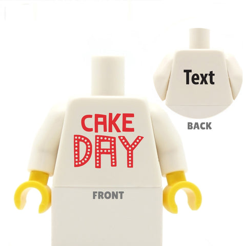Cake Day - Custom LEGO Torso