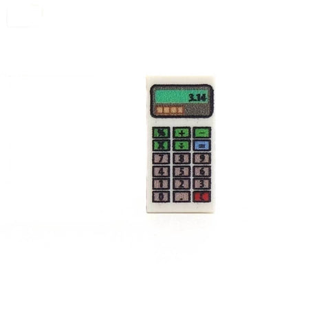 Calculator Custom Designed LEGO Tile