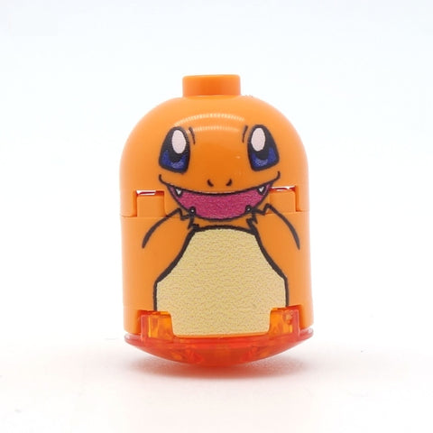 custom lego charmander pokemon