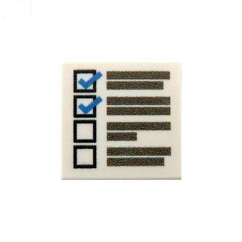 Checklist Custom Designed tile